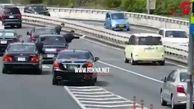اسکورت عجیب خودرو نخست وزیر در اتوبان+فیلم