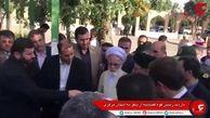 رئیس قوه قضاییه در محل دیدار خانواده شهدا، ایثارگران و اقشار مختلف مردم حاضر شد
