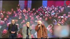 کنایه های سیروس الوند به فیلم مجید مجیدی در مراسم تقدیر از اصغر رفیعی جم در جشن منتقدان+فیلم