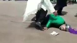 فیلم هولناک لحظه درگذشت کرم حیدری هنگام تعزیه ظهر عاشورا + فیلم