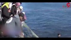 راه افتادن پویش مردمی برای نظافت بندر غزه + فیلم