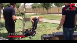 لحظه قتل زن 4 شوهره در ملاء عام توسط شوهر پنجم / مردم خونسرد بودند + تصویر