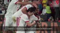مصاحبه دوربین AFC با علیرضا بیرانوند در پایان دیدار دیشب مقابل عمان+فیلم
