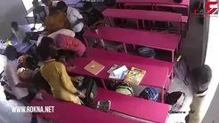 خودکشی معلم بعد از قتل شاگردش سرکلاس+ تصویر