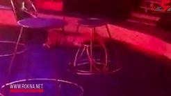 غش کردن یک ببر در سیرک هنگام اجرای نمایش + فیلم