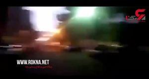 فیلمی منتشر نشده از شب فاجعه / ثلاث پشت فرمان اتوبوس بود!+فیلم
