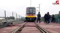 رونمایی از قطار بدون راننده در چین + فیلم