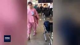 فیلم /سرگردانی مسافران ایرانی در فرودگاه روسیه / 30 ساعت سخت