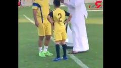 پسر فرهاد مجیدی هم فوتبالیست شد!+فیلم