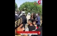 لحظه وحشتناک تیراندازی  در  خاکسپاری شیخ یک طایفه در خرمشهر +فیلم