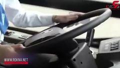 جایگزین شدن اتوبوسهای برقی به جای اتوبوسهای گازوئیلی در شیلی + فیلم