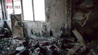تخریب و آتش زدن اموال عمومی در غرب استان تهران+ فیلم