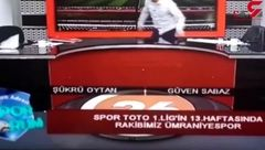وحشتناکترین اتفاق برای مجری در پخش زنده + فیلم