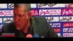 درگیری علی دایی با یک خبرنگار و ترک سالن نشست خبری + فیلم
