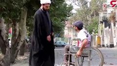 دوربین مخفی ایرانی کمک به معلول +  فیلم