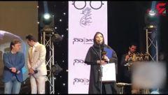 سخنان سحر دولتشاهی پس از بردن جایزه بهترین بازیگر نقش مکمل زن+فیلم