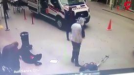 تیر اندازی مرگبار روبروی  بیمارستان در عمرانیه! / زن چادری و شوهرش کشته شدند + فیلم