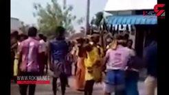 میهمانان جشن عروسی زیر  کامیون لت و پار شدند! +فیلم تکاندهنده