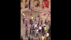 فوتبالی ها دیروز با اسلحه و قمه به جان هم افتادند! + فیلم 14+