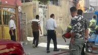آتش کارگاه مبل سازی در خمینی شهر را سوزاند