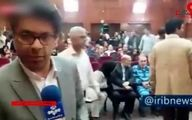 اولین فیلم از جلسه دادگاه نجفی