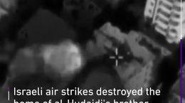 فیلم ناباورانه از زنده ماندن نوزاد غزه ای در بمباران موشکی