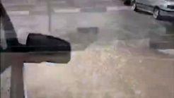 سیلاب خیابان های کرج را در بر گرفت +فیلم