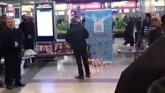 تجمع خانواده های جانباختگان پرواز مرگ تهران یاسوج +فیلم