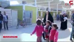 بازگشت عراقیها به شهرهای خود پس از نابودی داعش+ فیلم