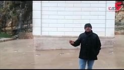 شیراز یک روز پس از سیل مرگبار +فیلم
